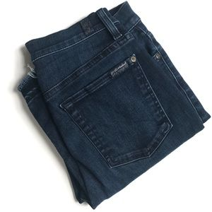 7 For All Mankind High Waist Ankle Gwenevere Jean